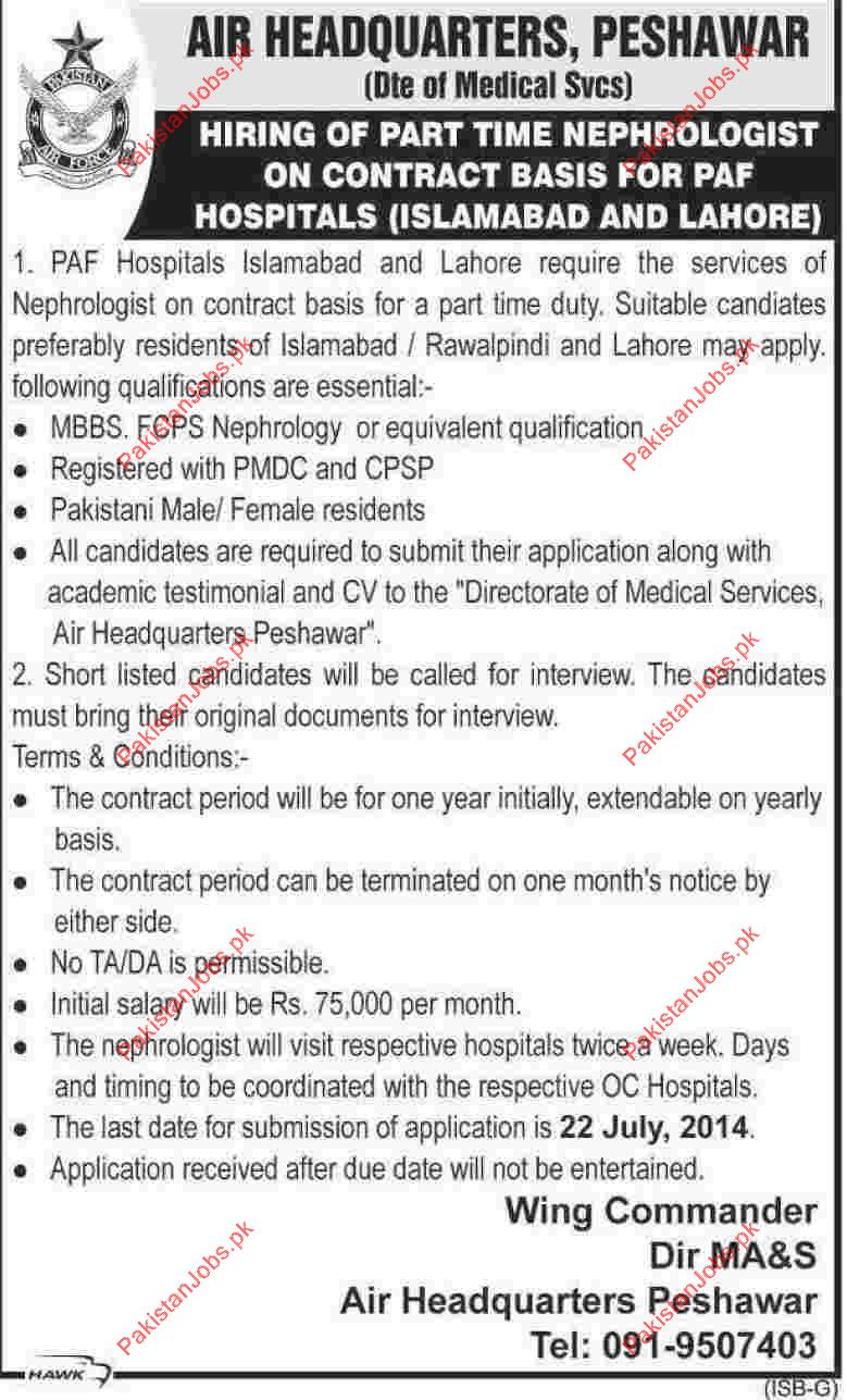 paf hospital required staff 2019 paf hospital jobs in