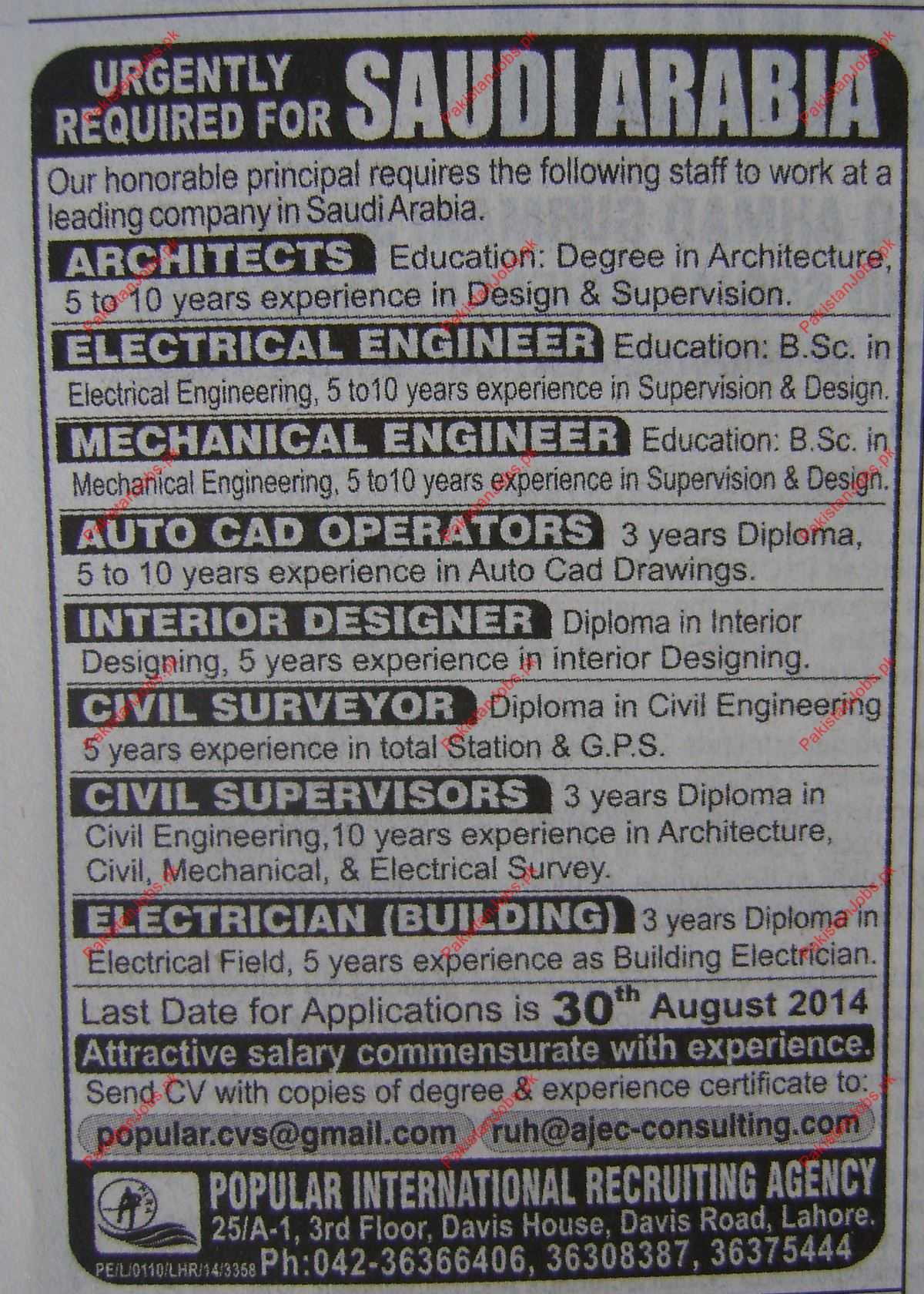 Electrical Designer Jobs In Saudi Arabia Zeppe