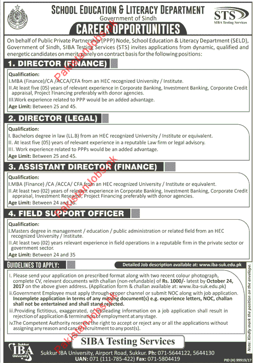 director finance job description
