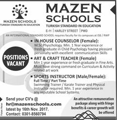 craft teacher jobs if you are seeking a job as an art teacher one