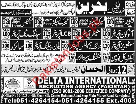 Bahrain Jobs - PakistanJobs pk