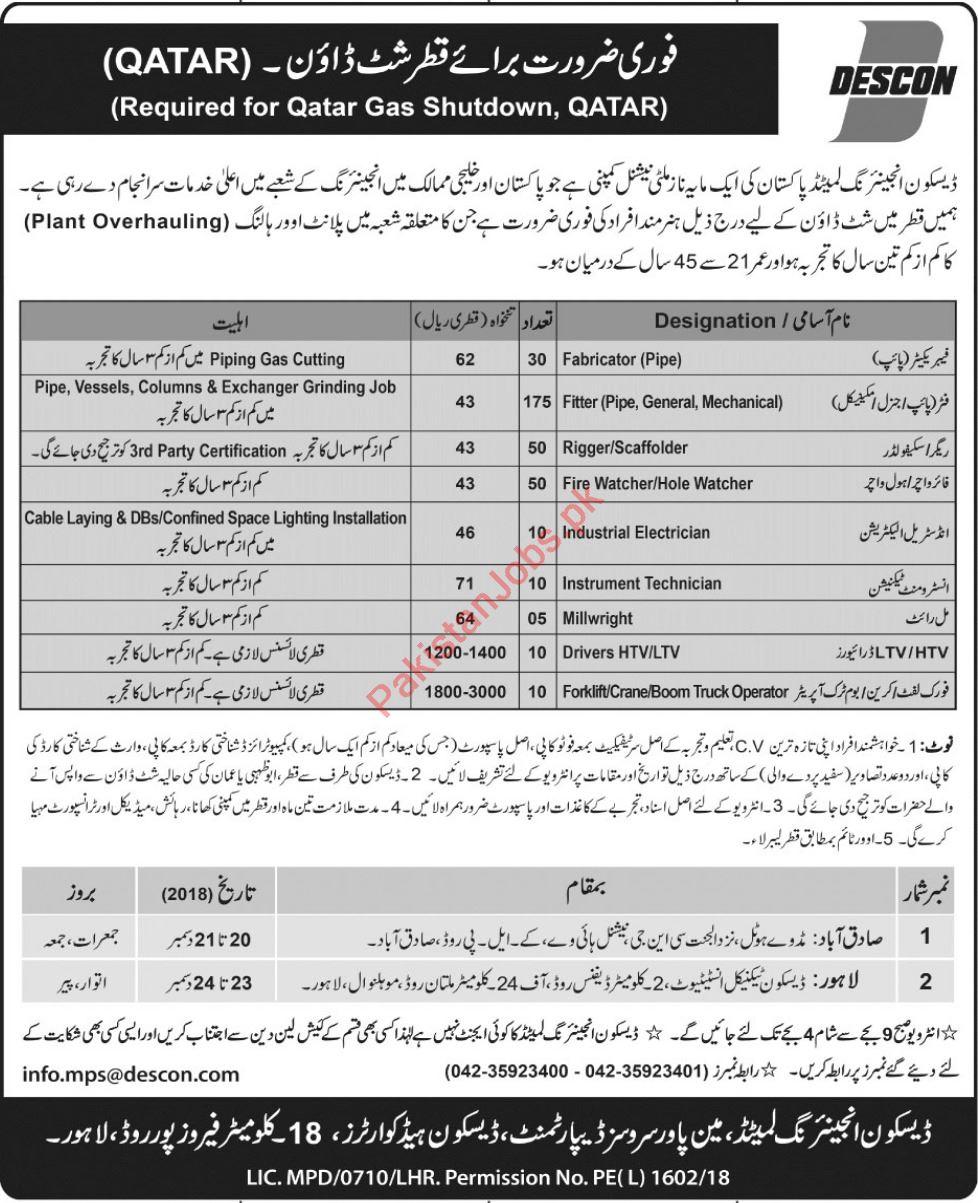 Doha Jobs - PakistanJobs pk