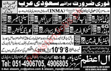 Safety Officer & Building Electrician Jobs in Saudi Arabia 2019 11