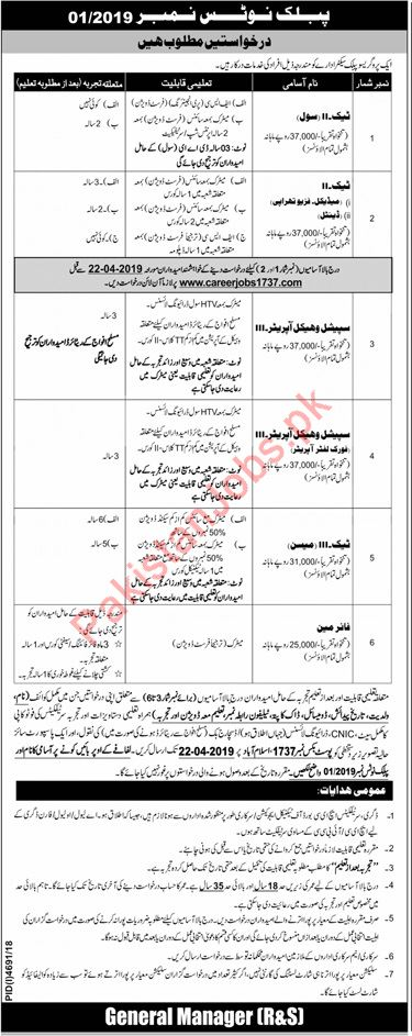 Public Sector Organization PAEC Technical Staff Jobs 2019 2019